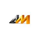 A.m.-Logo Lizenzfreies Stockfoto
