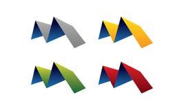 M-logo royaltyfri illustrationer