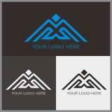 M logo. With bird shape Royalty Free Stock Photos
