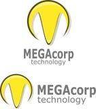 M Logo Vector Royalty-vrije Stock Fotografie