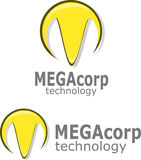 M Logo Vetora Fotografia de Stock Royalty Free