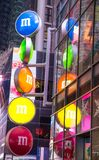 M&M的商店在纽约 免版税库存照片