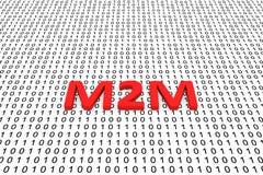 M2M vector illustratie