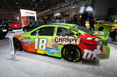 M & M Candy Toyota Stock Racing Car Stock Photos