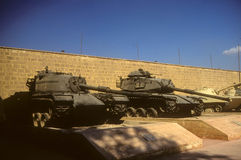 M48, M60 (captured Israeli tanks) Stock Photo