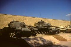 M48, M60 (captured Israeli tanks) Stock Photo