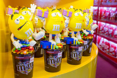 M&M ` s巧克力糖 免版税库存图片