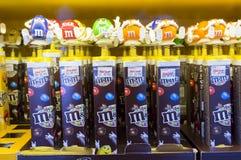 M&M ` s巧克力糖 库存图片