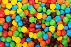 M&M`s candies Royalty Free Stock Photo
