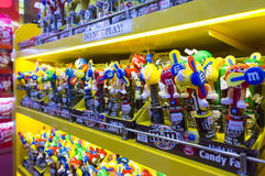 M&M`s Chocolate candies Royalty Free Stock Photos