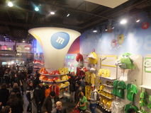 M&M's World in New York Royalty Free Stock Photography