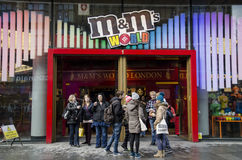 M&m's world Royalty Free Stock Images
