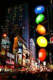 M&M Store Times Square New York City stående Arkivbild