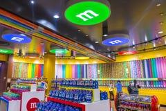 M&M wereld Las Vegas Stock Fotografie