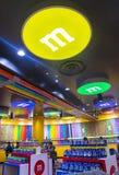 M&M wereld Las Vegas Royalty-vrije Stock Foto