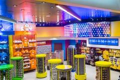 M&M wereld Las Vegas Stock Afbeelding
