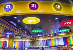 M&M wereld Las Vegas Stock Foto's