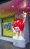 M&M world Las Vegas Royalty Free Stock Image