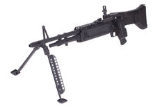 M60 machine gun Royalty Free Stock Images