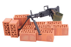 M60 machine gun Stock Images