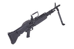 M60 machine gun Stock Photos