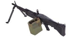 M60 machine gun Stock Images