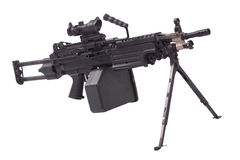 M249 machine gun Stock Images