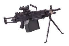 M249 machine gun Stock Images
