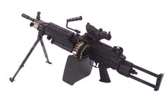 M249 machine gun Royalty Free Stock Photography