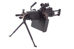 M249 machine gun Royalty Free Stock Photos