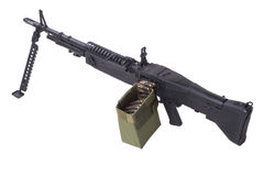 M60 machine gun Royalty Free Stock Image