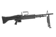 M60 machine gun isolated Royalty Free Stock Photo