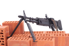 M60 machine gun Royalty Free Stock Photography