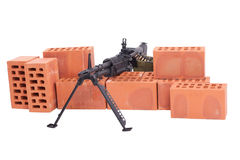 M60 machine gun Royalty Free Stock Photos