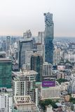 MahaNakhon - Bangkok`s highest building Stock Image