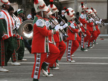 A & M Marching Band Royalty Free Stock Photography