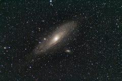 M31 - Melkweg in Andromeda Royalty-vrije Stock Foto