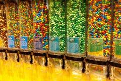 M&M \ 'mondo di s sulla striscia di Las Vegas fotografie stock