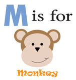 M is for Monkey Stock Images