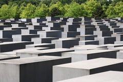 M?morial pour les juifs assassin?s de l'Europe berlin image libre de droits