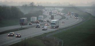M20 motorway Kent England UK royaltyfri fotografi