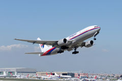 9M-MRA Malaysia Airlines Boeing 777-2H6ER Imagem de Stock Royalty Free