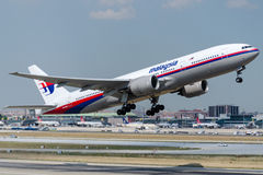 9M-MRH Malaysia Airlines, Boeing 777-2H6 (ER) Stockfoto