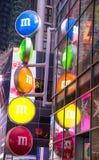 M&MS lager i New York Royaltyfri Foto