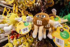 M&Ms World store. Different style souvenir of the M&Ms World store in in Leicester Square, London, England Stock Photography