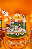 M&Ms World store. In in Leicester Square, London, England Stock Photo