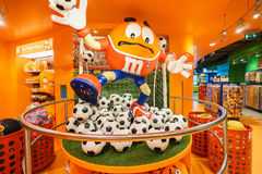 M&Ms World store Stock Photos