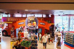 M&Ms World store. In in Leicester Square, London, England Stock Images