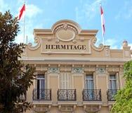 Mônaco - eremitério do hotel Foto de Stock Royalty Free