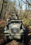 M3A1 o escuteiro Car durante o evento de Armor Experience no museu da armadura americana fotos de stock royalty free